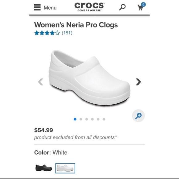 e119ddcca6 CROCS Shoes - CROCS nursing shoes